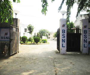 BSNL Tel Exchange Residential Campus